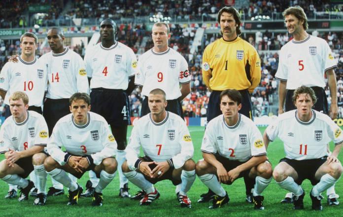England capped forwards