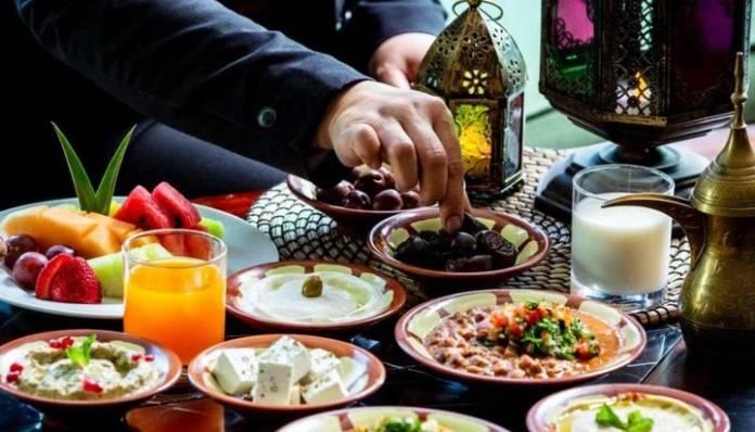Suhoor during Ramadan