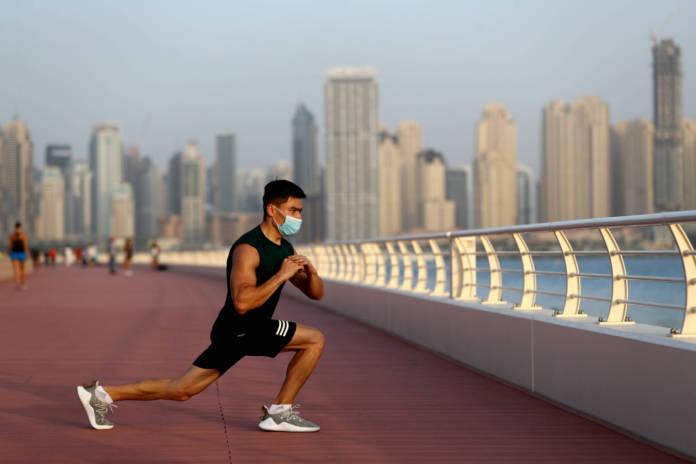 masks dubai exercise