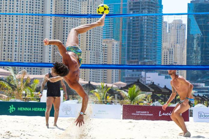 Beach Sports Week FootVolley