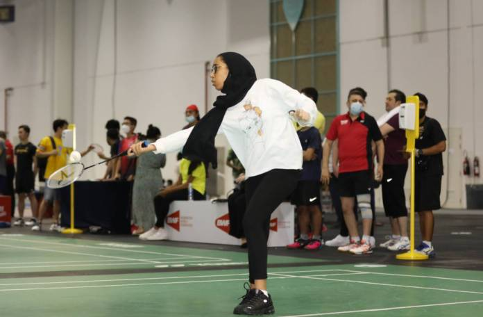 Dubai Sports Council women badminton