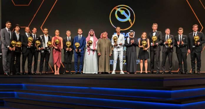 Ronaldo Dubai Globe Soccer Awards