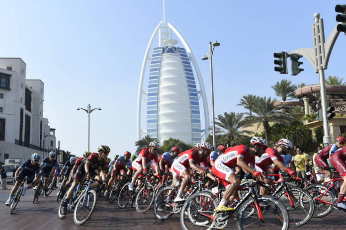 UAE Tour Dubai Stage