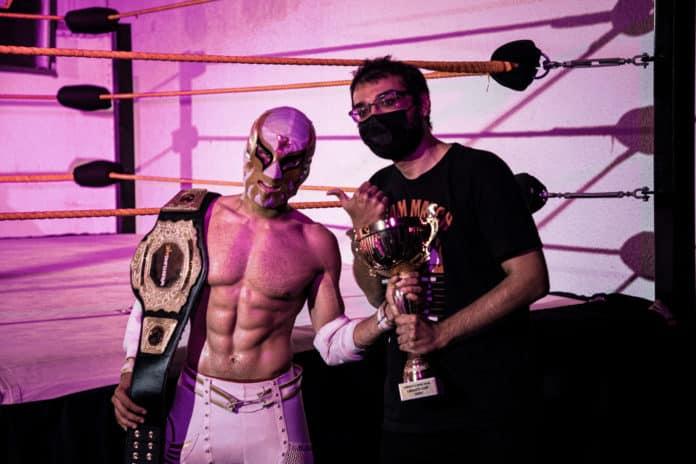 Emirati Wrestler Shaheen