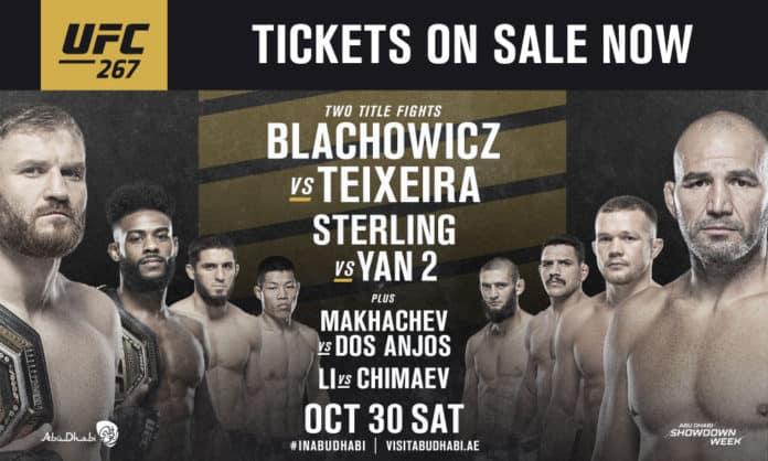 Abu Dhabi Showdown Week UFC 267